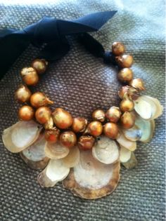 Blister Pearls and Mother of Pearls shells By Beverly Shannon, a wonderful jeweler and pal!!!