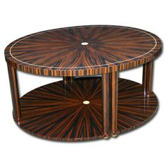 Our custom Coffee Table Claude @ Anne Hauck Art Deco