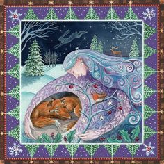 Winter Mother Protection.... by Painting Dreams.....x