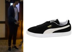 """Park Seo-Joon in """"Witch's Romance"""" Episode 12.  Puma Suede Classic Shoes #Kdrama #WitchsRomance #ParkSeoJoon #박서준 Witch's Romance, Seo Joon, Puma Suede, Korean Style, Dramas, Korean Fashion, Shoes, Classic, Sneakers"""