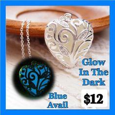 Sale Glow In The Dark Pendant &Chain
