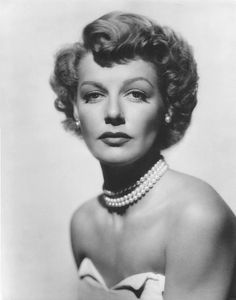 """""""Roz Russell is hard as nails...She came up the hard way, and it shows."""" - Ann Sheridan"""