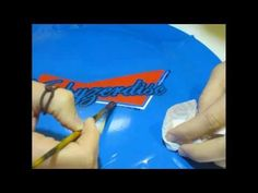 """▶ How to Dye a Disc Golf Disc using Multiple Colors - """"Peel & Paint"""" - YouTube"""