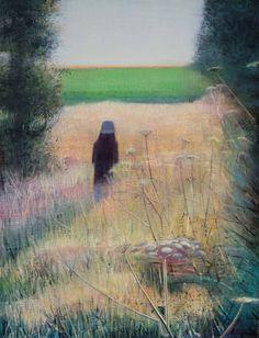 Path in Long Grass, Thomas Lamb