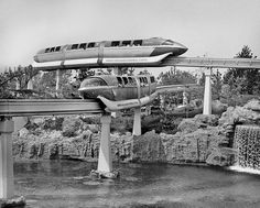 The only thing better than one monorail, is two monorails!