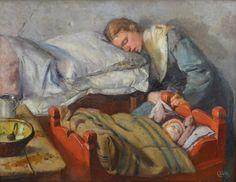 Christian Krohg, 1852-1925, Bergen Kunstmuseum, Stenersen Collection
