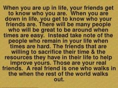 This is entirely true on so many levels. I have personally experienced this exact scenario happening to me over the last year. I love my real friends and value them so much more.