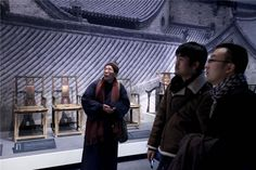 Ancient Chinese seats on display at World Art Museum