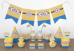 Imprimible kit de fiesta gratis Minions