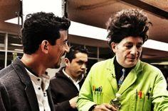 Iván Carrillo con Beakman