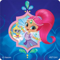 You take care of their health, but Shimmer and Shine grant all of the other wishes of a young patient's life! Nickelodeon's Shimmer and Shine animated television show features two genies trying to help a young girl named Leah, but usually getting it wrong 8th Birthday, Birthday Parties, Girl Parties, Slider Images, Shimmer N Shine, Cute Toddlers, Princesas Disney, Cute Cartoon, Cupcake Toppers