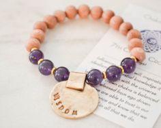 Sacral Chakra Bracelet Balance Bracelet Healing by ThreeArrowsCo