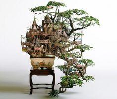 a fantastic bonsai world