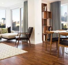 Image result for mid century modern drapes