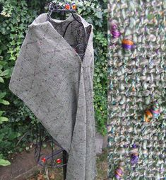 Fern Green Multi-Colour Handwoven Wrap - Scarves, Wraps & Accessories - The Crafty Cailín