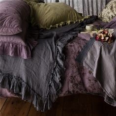 Bella Notte Bed Scarf Whisper Linen