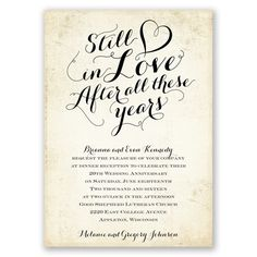 42 Best Wedding Anniversary Invitations Images Anniversary Parties