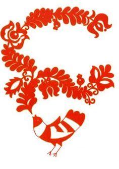 magyar motívumok sablon - Google keresés Hungarian Embroidery, Folk Embroidery, Bird Art, Canvas Wall Art, Folk Art, Quilling, Diy And Crafts, Mosaic, Clip Art