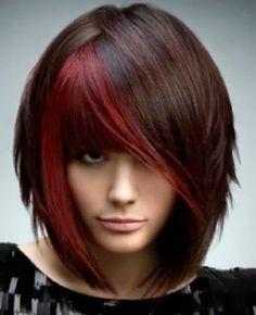 tinte color rojo -