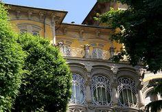 Torino, Corso Giovanni Lanza, Palazzina Scott von Pietro Fenoglio (Villa Scott by Pietro Fenoglio) by HEN-Magonza, via Flickr