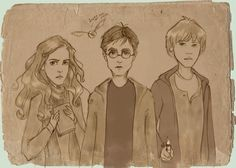 "otterandterrier: "" i-have-too-many-fandoms: "" Awesome fan art "" And yet you don't seem to appreciate it, since I don't see the artist's name anywhere. Harry Potter Through the Years by Ninidu Always...."