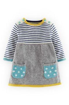 Mini Boden Sweet Knit Sweater Dress (Baby Girls)