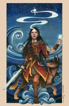 Abhorsen - Lirael by Grace Fong