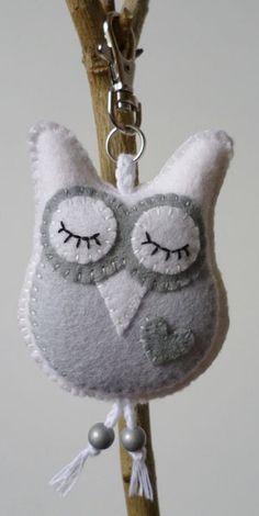 Owls key chain... too cute!