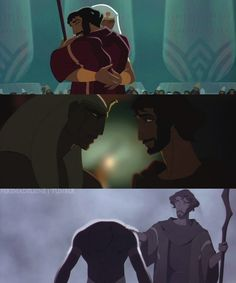 """""""The Prince of Egypt""""--Moses and Ramses Dreamworks Animation, Disney And Dreamworks, Animation Film, Disney Animation, Disney Animated Movies, Disney Movies, Laika Studios, The Bible Movie, Prince Of Egypt"""