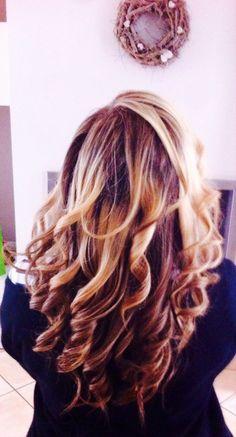 My hair blonde curl capelli biondi mossi - Federica TRevisanut