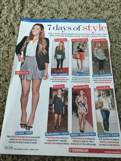 7 days of style
