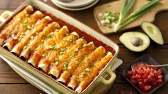 Try these easy, cheesy ground beef enchiladas, complete with sassy sauce and mild chiles.