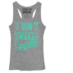 Look at this Gray Heather 'Sparkle' Racerback Tank on #zulily today!