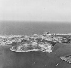 La Manga del Mar Menor en B/N #fotos antiguas #murcia #la manga #mar menor - http://jaloque.com/