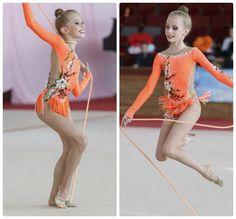 Rhythmic gymnastics leotard (photos by Evgeny Kondakov)