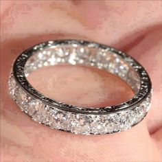 A wedding band should speak to the masses about your love.   Amour Custom Design House - Make your dream a reality.   www.AmourJewellers.com  Please Like, Comment and Share.