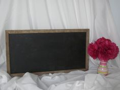 Large Tobacco Stick Chalkboard. $20.00, via Etsy.