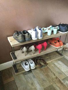 Extending Wooden Shoe Rack - From Lakeland | Products | Pinterest | Wooden shoe racks Shoe rack and Pallets & Extending Wooden Shoe Rack - From Lakeland | Products | Pinterest ...