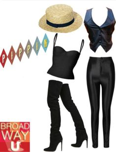 Get the Broadway look with Pippin!