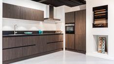 Keukenloods.nl - X-line Eiken Sepia / 8 Kitchen Cabinets, Storage, Showroom, Furniture, Home Decor, Purse Storage, Store, Interior Design, Home Interior Design