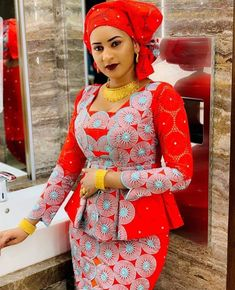 latest ankara skirt and blouse styles for ladies: Fabulous ankara skirt and blouse you should rock for parties Latest African Fashion Dresses, African Dresses For Women, African Print Dresses, African Print Fashion, African Attire, Africa Fashion, Ankara Fashion, African Men, African Prints