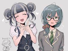 Kokoro, Girl Bands, Anime Shows, Anime Art Girl, Drawing Reference, Kawaii Anime, Anime Characters, Character Design, Fan Art
