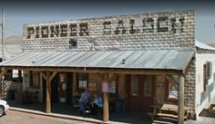 Be prepared to have encounter with one of several spirits while visiting the Pioneer Saloon in Goodsprings, NV. Take note, the customers in the photo have chosen to sit outside rather than inside.