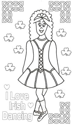 25 best images about Dance Coloring Pages on Pinterest