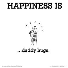 Dads hugs
