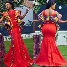 african fashion ankara Check out these stunning asoebi styles. Take a good look at them and start adding some to your collections. Loads of looks to choose from. African Fashion Ankara, African Print Fashion, African Wear, African Attire, African Dress, African Clothes, Africa Fashion, African Traditional Dresses, Traditional Outfits