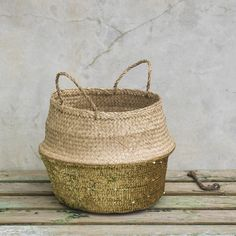 Toulouse Sequin Basket