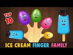 Ice Cream Finger Fam