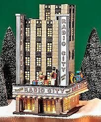Dept 56 Radio City Music Hall Christmas In The City Building + RC Rockettes
