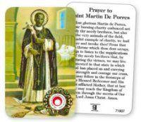 Saint Martin Prayer Card with Relic. Saint Christopher, Prayer Cards, St Francis, All Saints, Prayers, Image, All Saints Day, Beans, Saint Francis